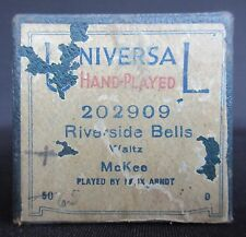 Universal Hand Played 'Riverside Bells' by F W McKee Player Piano Roll