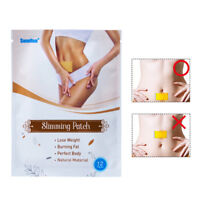 12pcs/bag chinese medicine strongest weight loss slimming diets slim patch pa TR