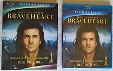 Braveheart OOP Slipcover (Blu-ray Disc, 2009, 2-Disc Set, Sapphire Series)