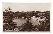 Blue Pool - Wareham Real Photo Postcard 1952
