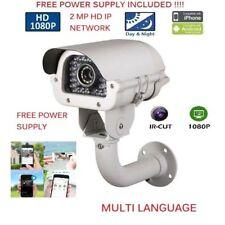 1080P 2MP Outdoor VariFocal 2.8-12MM IP HD IR Security Camera CCTV 150ft IR mtlc