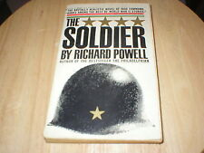 THE SOLIDER: RICHARD POWELL 1960 USED PAPERBACK BOOK! NICE!