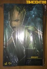 Ready! Hot Toys MMS475 Avengers: Infinity War 1/6 Groot Figure