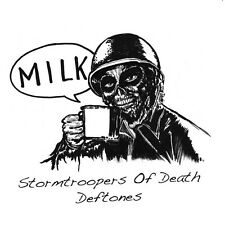 "rare 2000 made STORMTROOPERS OF DEATH + DEFTONES milk RSD 2015 WHITE 7"" s.o.d."