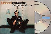 PASCAL OBISPO la moitie de moi CD SINGLE