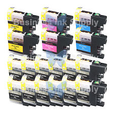 18++ PACK New Chip LC103XL 101 Ink Cartridge for Brother MFC-J650DW MFC-J870DW