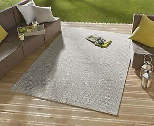 Bougari Coin Indoor/Outdoor Area Rug, Grey, 160cm x 230cm