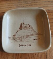 More details for vintage honiton england lindisfarne castle ceramic pin dish