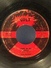 Otis Redding ~ Pain In My Heart ~ Something Is Worrying Me 45 On Volt Atco HTF +