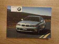 BMW serie 3 Coupé Propietarios Manual/Manual De 03-06