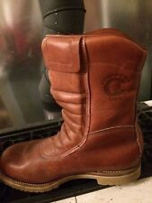 motorcycle boots Chippewa excellent vintage cold weather race trials sz 8 wide