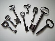 Lot de 8 Anciennes Clés Clefs,Collection,Décoration,Serrure,Antique Key (Lot 6)
