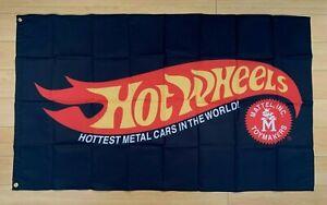 Hot Wheels 3x5 ft Flag Banner Toy Cars Mattel