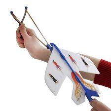 Slingshot LED Light Flare Catapult Airplane -GOOD Outdoor Toy for Kids Boy Girl
