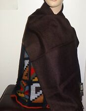 Luxury 100%  Baby Alpaca Scarf  PERUVIAN - Peru   Women's Brown