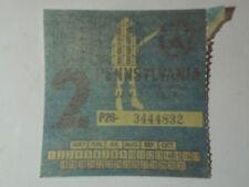 1977 Pennsylvania Inspection Sticker Unused #2