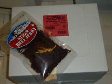 CASE of 12 Bags Mountain Man HOT Teriyaki Beef Jerky 7 oz bag best by date 8/17