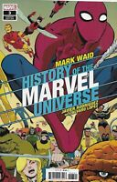 History Of The Marvel Universe Comic Issue 3 Cover B Variant Rodriguez 2019