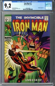 Iron Man #11 CGC 9.2