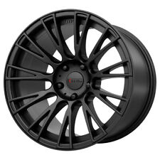 "4-KMC KM706 Impact 18x8 5x4.5"" +38mm Satin Black Wheels Rims 18"" Inch"