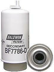 BF7786-D BALDWIN SECONDARY FUEL/WATER SEPARATOR ELEMENT WITH DRAIN