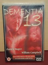 Dementia 13 - DVD Region 0 (All) - NEW SEALED - Patrick Magee - William Campbell