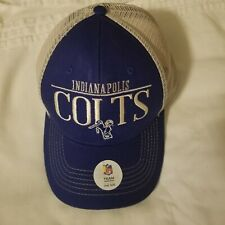 Indianapolis Colts Mesh Snapback Navy White NFL Team Apparel Hat Cap NWT