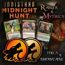 More details for (mid) innistrad midnight hunt - rare / mythic (inc foil & showcase cards) mtg