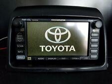 04-05 TOYOTA SIENNA JBL NAVIGATION GPS CD RADIO SCREEN, 86120-08150
