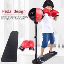 Boxing Punching Ball with Stand and Gloves Full Set for Kids Agility Training