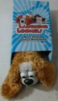 NEW Laughing Loonies Plush Dog Toy Motion-Activated Laughing&Rolling Animal 11""
