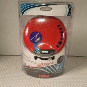 RCA RP2601Portable CD Player w/ headphones 60 sec. espXtreme skip protection.