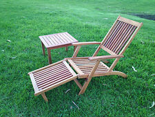 NEW OAK TIMBER FOLDABLE OUTDOOR CHAIR AND TABLE SETS FOR GARDEN,PATIO,POOL,BBQ