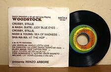 Woodstock - Led Zeppelin - Crosby Stills & Nash - Disco omaggio RIFI RFE15524