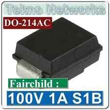 Fairchild - 100V 1A DO-214AC Recitifier Diodes  - 20pcs [ S1B ]