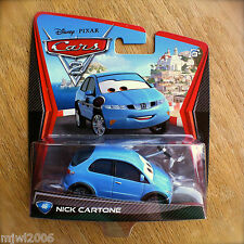 DISNEY PIXAR CARS 1 2 3 Moulé Sous Pression 1:55 Final Lap-ROYAUME-UNI! Nick Stickers #142