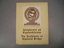 The Sculptures On Vigeland Bridge Ved Karl S. Kjaer 1st 1950
