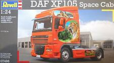 KIT REVELL 1:24 DA MONTARE CAMION TRUCK DAF XF105 SPACE CAB 07496