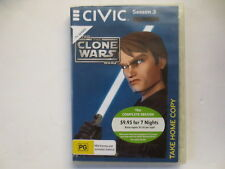Star Wars The Clone Wars Season 3 DVD 5-Disc Set R4 #2433