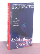 1st, signed by author, Inspector Ghote: Asking Questions by H R F Keating (1996)