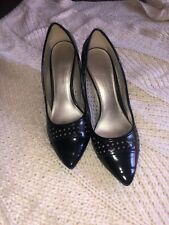 CHRISTIAN SIRIANO PAYLESS LOVELY BLACK CLASSIC PUMPS HIGH HEEL SHOES 8 .