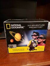 National Geographic 3-D Adventure Projector Universe Space Science - Brand New