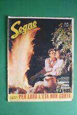 FOTOROMANZO SOGNO 48/1962 ROSARIO BORELLI SERENA VERGANO CHRISTINE KAUFMANN