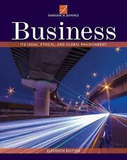 Business: Its Legal, Ethical, and Global Environment, Jennings, Marianne M., Goo