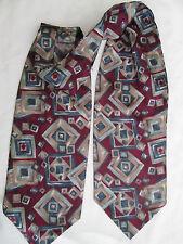 -AUTHENTIQUE foulard écharpe  DANIEL 20% soie - 80 % polyester TBEG  vintage