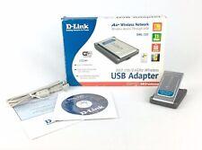 D-Link DWL-120 Wireless-B USB Adapter 802.11b/2.4 GHz