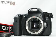 [EXC+++++] Canon EOS 60D 18.0MP Digital SLR Camera - Black (Body Only)  (G177)