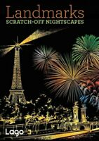 Landmarks : Scratch-Off Nightscapes, Paperback by Lago Design (COR), Brand Ne...