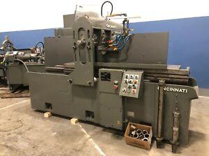 Cincinnati Horizontal Production Mill, 220-153 Hypowermatic Plain, with AB PLC