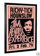 Jimi Hendrix Ricky Tick Hounslow Concert Poster UK 1967